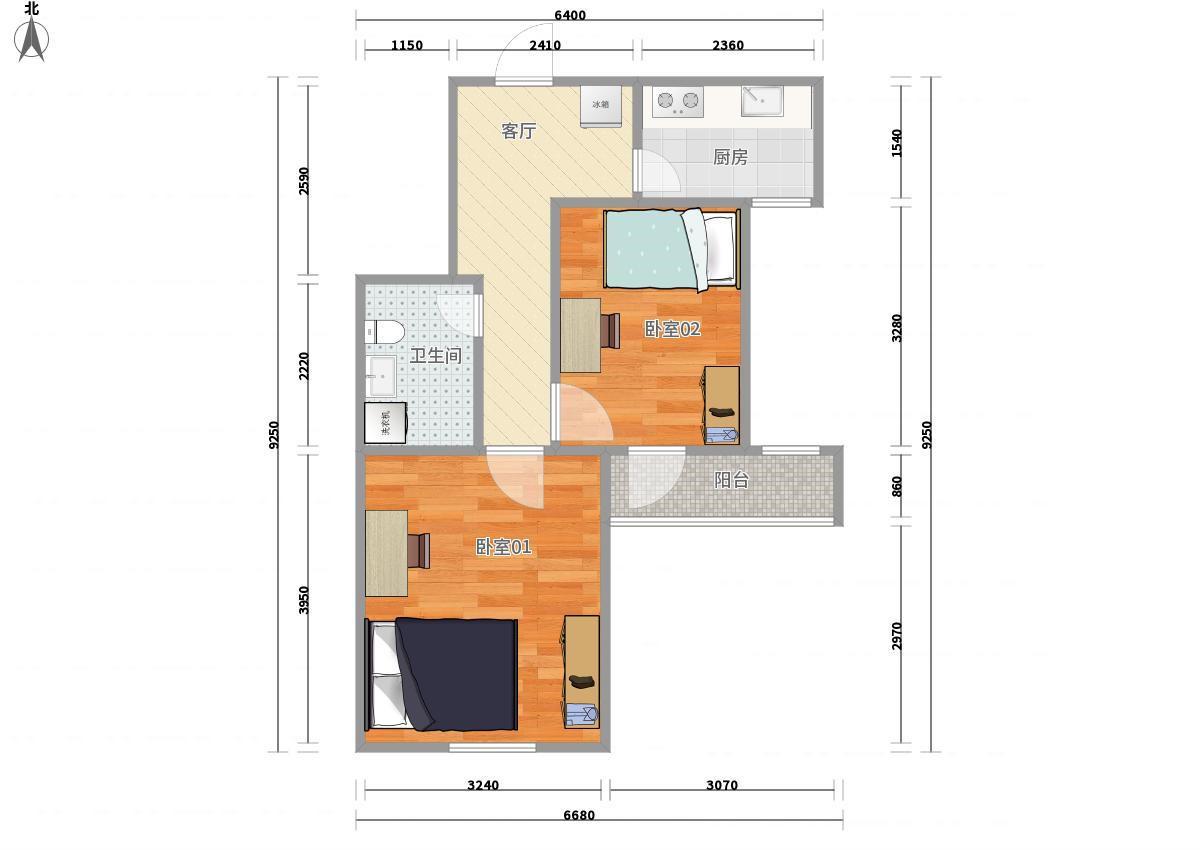 130房屋平面设计图