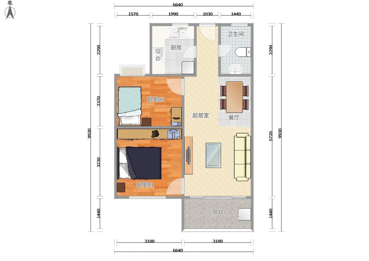 龙岗区布吉5号线(环中线)上水径万科麓城一期2居室