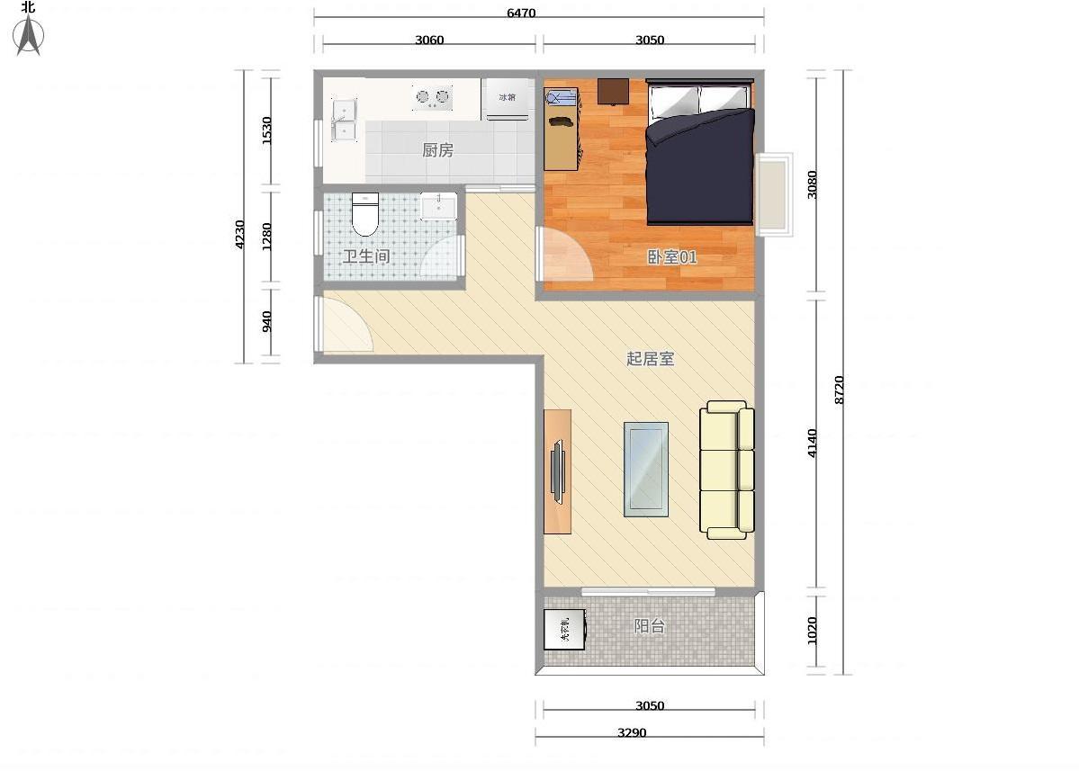 福田区梅林9号线,4号线(龙华线)上梅林汇龙花园1居室
