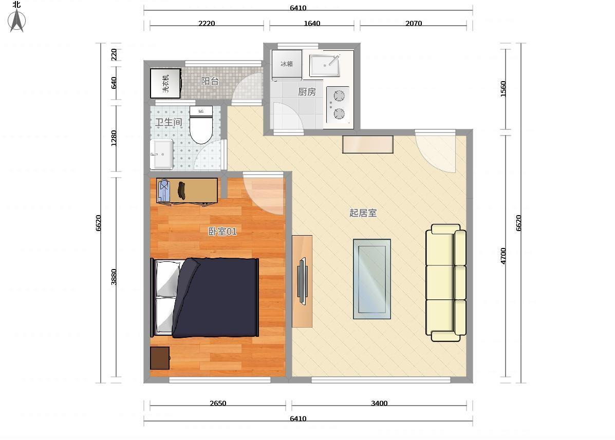 龙华区龙华中心4号线(龙华线)龙华青年城邦园1居室